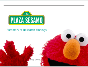 Sesame Street, Plaza Sesamo, PowerPoint, communicating science