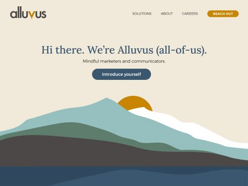 Alluvus: Refreshed Brand and Redesigned Website